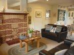Spacious, sociable open plan living area