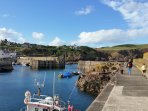 St Abbs - fishing port and centre of the St Abbs and Eyemouth Voluntary Marine Reserve.
