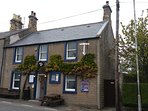 The Anchor Inn - the closest of the two pubs in Coldingham - has a fine beer garden.