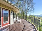 Get away to Blue Ridge Mountain when you stay at this 1-bedroom, 1.5-bathroom vacation rental apartment in Burnsville.