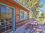 You'll love watching the sun rise or set over the mountains from the privacy of your own deck!