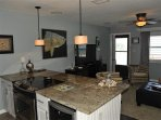 Full electric range and wine cooler