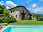 Beautifully restored country  villa with private pool