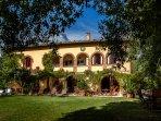 A spacious Tuscan Villa
