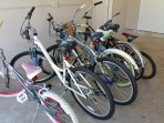 PLENTY OF BICYCLES FOR GUESTS TO USE
