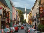 Kenmare town has lots of fine restaurants and pubs