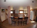 Sitting bar and kitchen