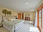 From the master bedroom, you'll have access to a private balcony!
