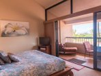 Private lanai --- Master bedroom - perfect spot for your morning coffee