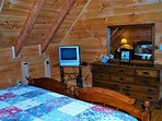 Master Bedroom w/Satellite TV