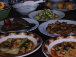 L and D, we serve Indonesian Cuisines adapted to the European dishes.