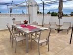 Roof terrace & BBQ Area