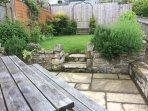 Sunny back Garden for dining al fresco