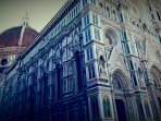 Duomo is 15-20 minutes far from the apartment by walking.