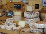 Sunday Market Cheese stall