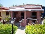 Luxury Detached 1 Bedroom Poolside Beach Bungalow with private Patio