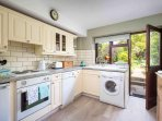 Bright and well presented kitchen