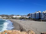 Nerja, playa de la Torrecilla