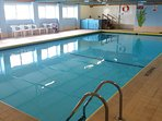 Indoor heated pool - free to use