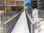 Boardwalk from Beach