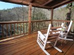 Rocking Chairs on Back Deck