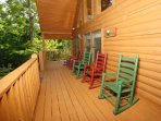 Rocking Chairs on Private Deck