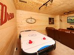 Air Hockey Table in Den
