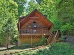 Almost Heaven Exterior - Private Setting Nestled in the Woods