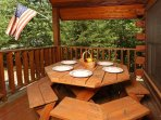 Picnic Table Perfect for Outdoor Dining