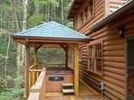 Hot Tub Under Covered Porch