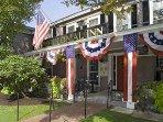 Colonial Inn 2 blocks away