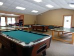 Pool and Table Tennis
