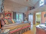 Choose from 4 cozy bedrooms  to get a terrific night's sleep!