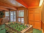 Gather your  family for a Foosball tournament and some friendly competition.