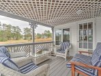 The home offers 2 porches and a lanai.