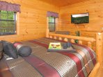 Never miss out on any favorite t.v.programs when vacationing in the Smokies!