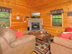 New smart t.v's throughout the cabin for your enjoyment.