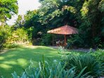 The Waters - Gazebo by the Lily pond - set in tropical gadens