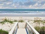 5 Minute Walk to Beach