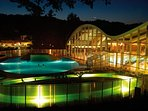 night view on lifeclass terme sveti martin