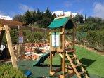 Play area in villa