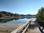 Within one mile of cottage you can enjoy fishing from this handicap accessible fishing pier.