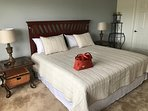 Escape the everyday stresses in the large, well-appointed master suite