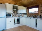 Greetham Valley Self Catering Lodge Kitchen