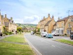 The beautiful Cotswold town of Broadway