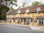 One of several lovely local pubs