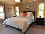 First Floor Master Suite with King Sized Bed
