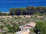 60 ettari di tenuta sul mare con ulivi secolari, pineta e spiaggia