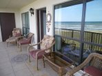 Beach Front condo with GREAT view of Gulf