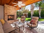 Outside Seating with Fire Pit